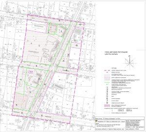 Icon of Граница плана са поделом земљишта на јавно и остало грађевинско земљиште са елементима за утврђивање и планом парцелације јавног